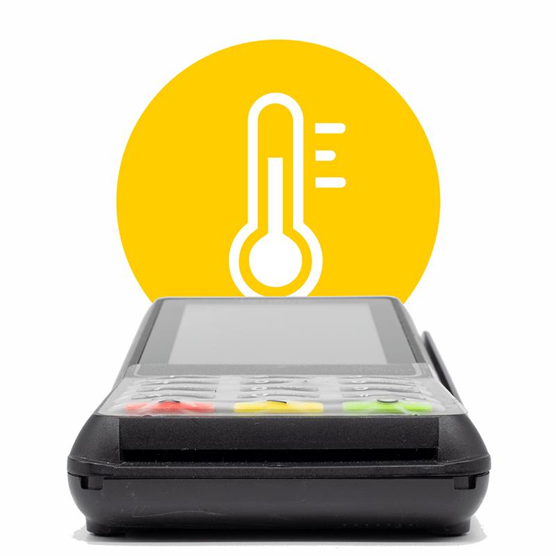 keypad protector temperature range